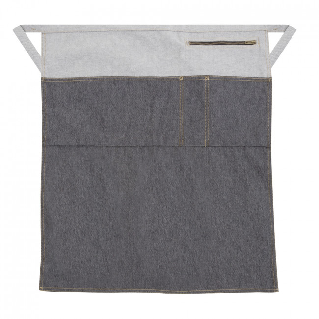 Long Two Tone Denim Waist Apron