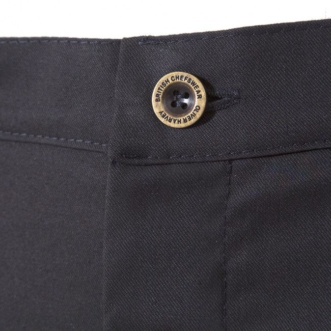The Black Lincoln Chef Trouser