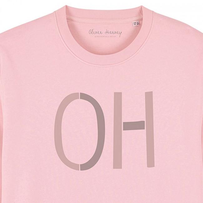 Unisex Organic Crew Neck Sweatshirt – Pink