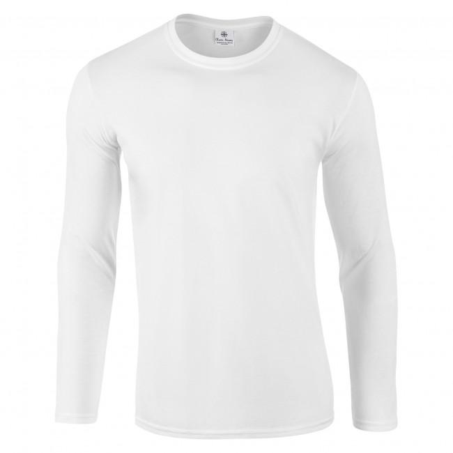 White Long Sleeved T-Shirt