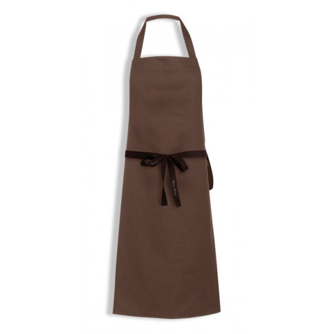 Brown Bib Apron