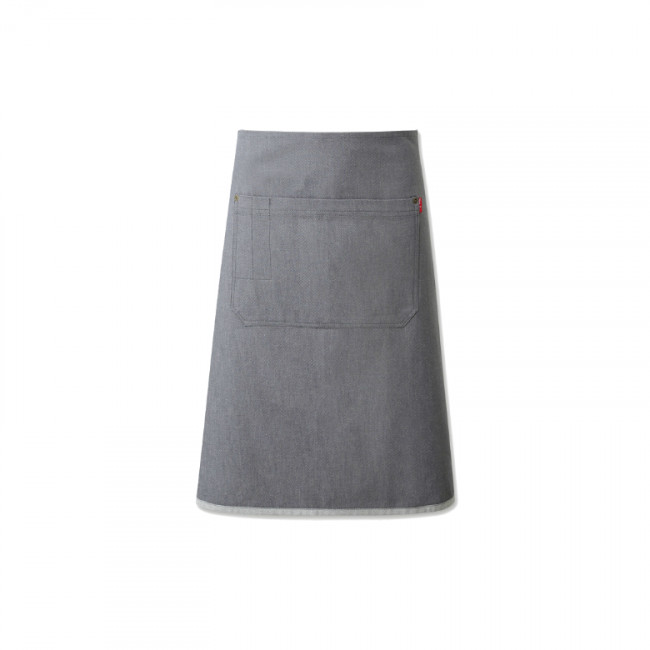 Grey Denim Waist Apron