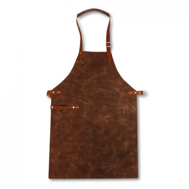 Dark Brown Full Leather Apron
