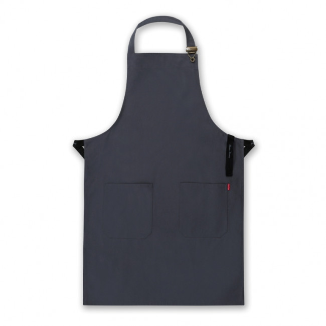 Grey Front of House Apron