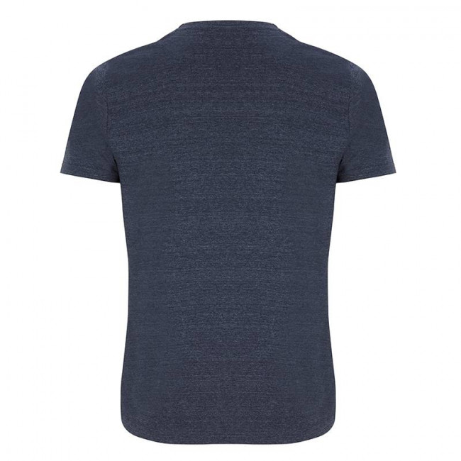 Mens Melange Navy T-Shirt