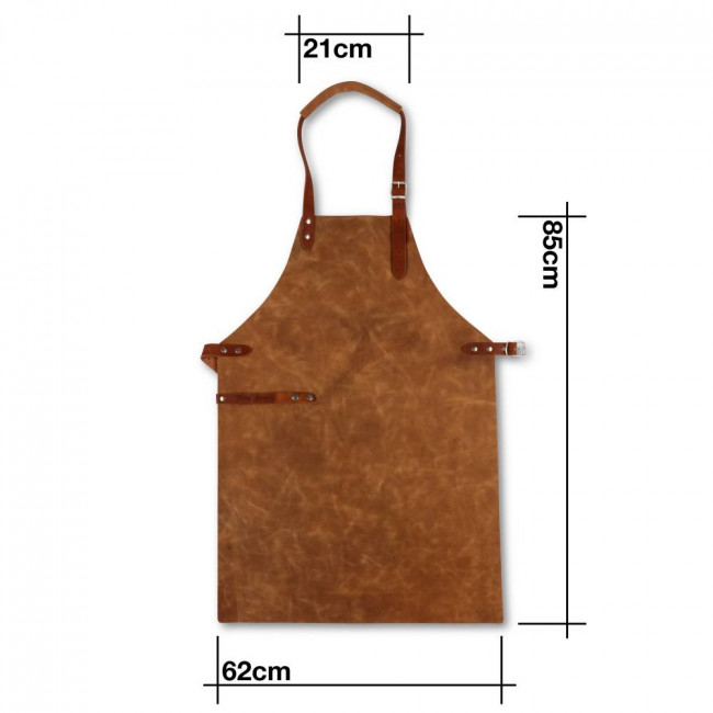 Light Brown Full Leather Apron