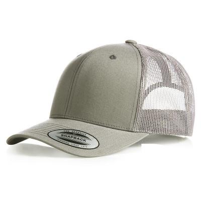 Silver Retro Trucker Cap