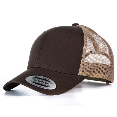 Chocolate/Caramel Retro Trucker Cap