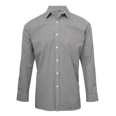 Black/White Gingham Shirt