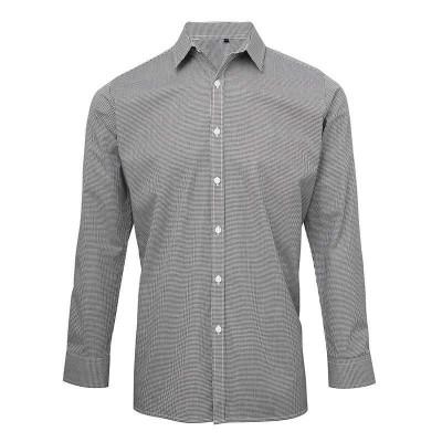 Black/White Gingham Shirt