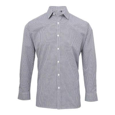 Navy/White Gingham Shirt