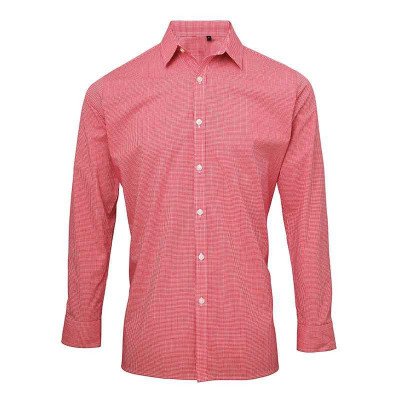 Red/White Gingham Shirt