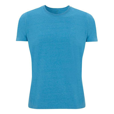 Mens Melange Mid Blue T-Shirt