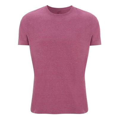 Mens Melange Plum T-Shirt
