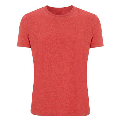 Mens Melange Red T-Shirt