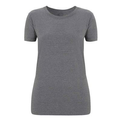 Womens Melange Grey T-Shirt
