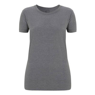Womens Melange Grey T-Shirt