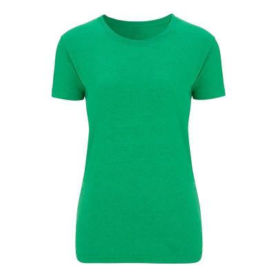 Womens Melange Green T-Shirt