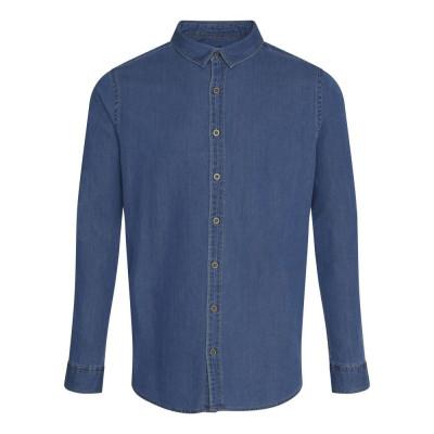 Dark Blue Denim Shirt