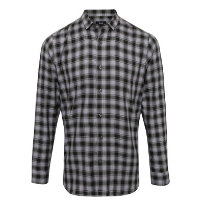 Steel/Black Check Shirt