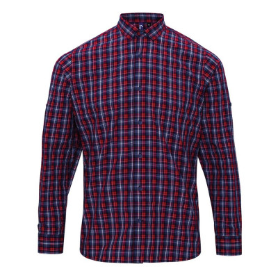 Navy/Red Check Shirt